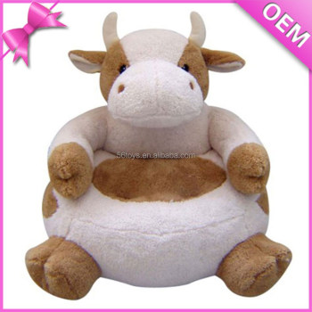 Stuffed Animal Cow Chairs For Kids Plush Chairs