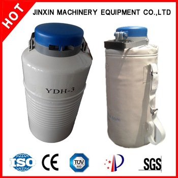 Dry Shipper YDH-3 Liquid Nitrogen Container Stainless Steel Tank Henen Supplier Manufacturer