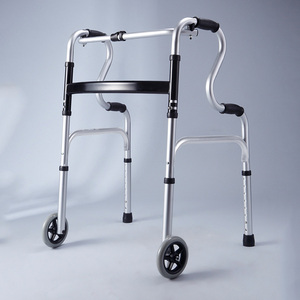 Lightweight Folding Portable Mobility Walker Prices For The Elder Disabled Adults Walking Aids With Wheels