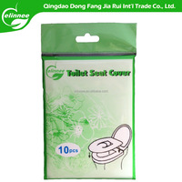 Sample free fast delivery 1/4 Disposable Paper Toilet Seat Cover