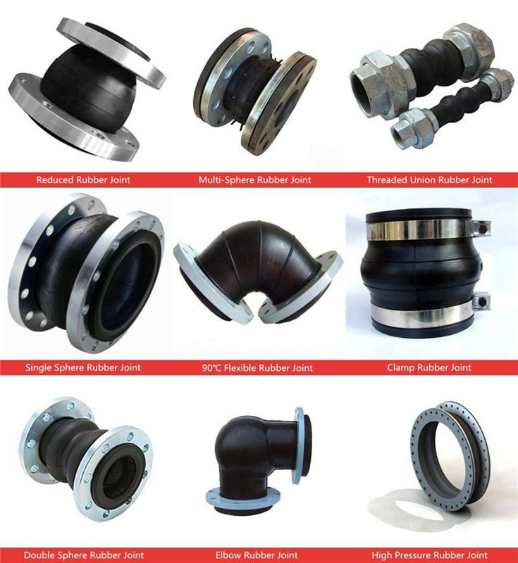 Galvanized single sphere flange ball joint convenient pipe