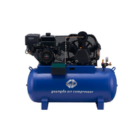 Best prices 250L tank petrol industrial air compressor with gasoline engine