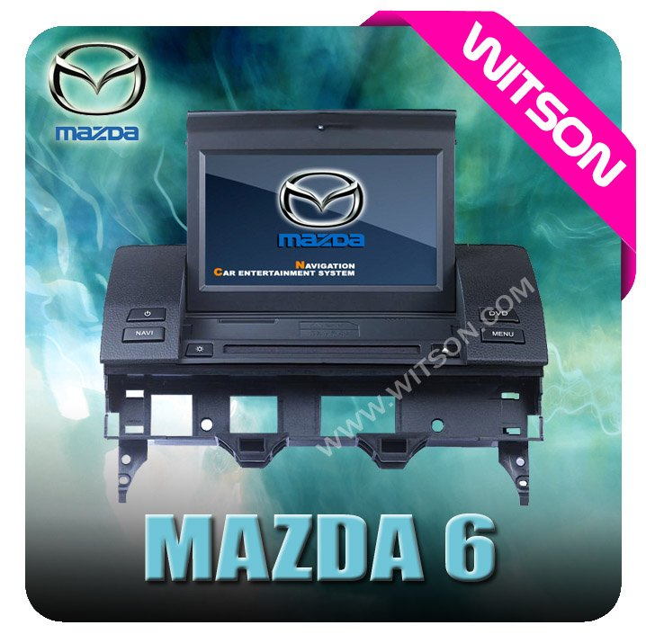 WITSON mazda 6 dvd player with gps navigation system with DVB-T Tuner (optional)