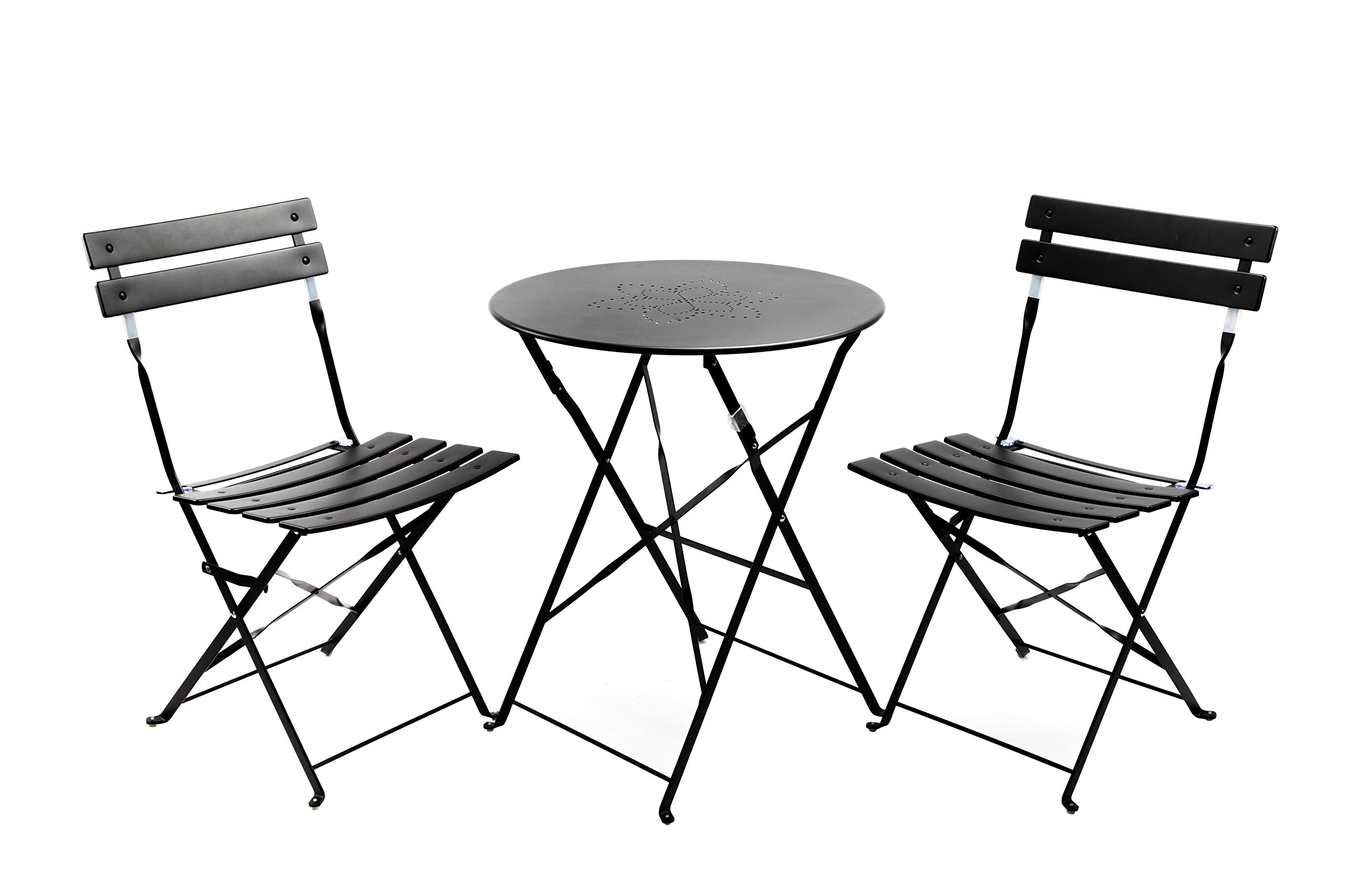 Cheap patio bar table sets find patio bar table sets deals on line get quotations finnhomy slatted 3 piece outdoor patio furniture sets bistro sets steel folding table and chair set watchthetrailerfo