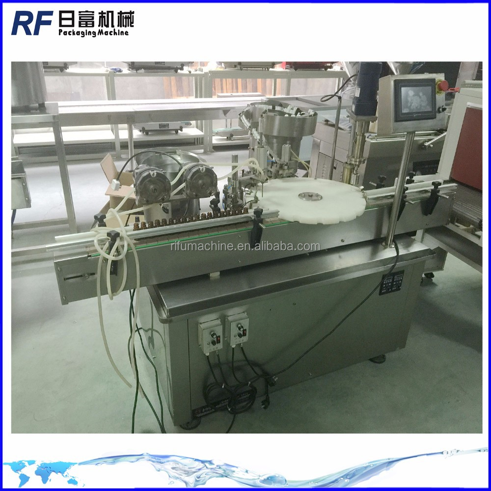 essential oil filling and capping machine
