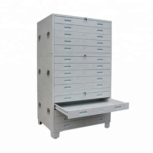 A1 Sizes Drawing Drawer Cabinet for Art Paper Storage