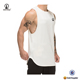 white tank top embroidery blank gym mens stringer singlet wholesale cool dry mesh tank top