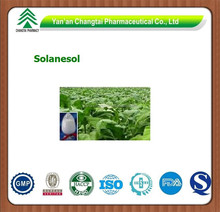 GMP factory supply herb Tobacco Leaf P.E. Solanesol