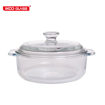 Factory Wholesale Price Clear Glass Cooking Pot Buy Clear Glass