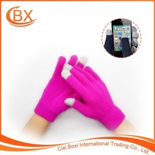 Professional Wholesale Smartphone Friendly Warm Touch Screen Gloves