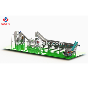 Brand manufacturer plastic pp pe film recycling washing line with convenient maintenance