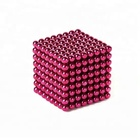 2.5mm Colorful Neodymium Manufacturer Strong Power Magnetic Balls Toy Magnet