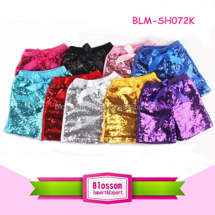 Summer Beachwear White Floral Big Bowknot Infant Bummies Bloomer Baby Girls High Waisted Bubble Shorts With Bow Headband