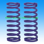 Middle deflection coil spring, purple coil spring, TY coil spring