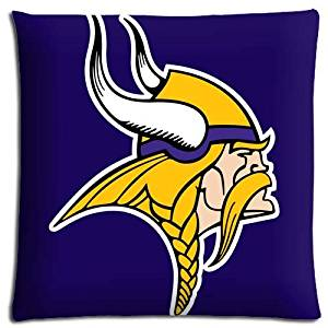 18x18inch 45x45cm cushion pillow covers cases Cotton Polyester Fabric prints NFL football logo