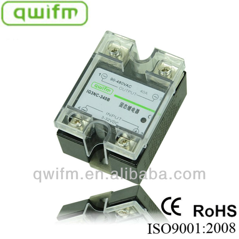 qwifm 80A Resistance Regulator Automotive Single Phase Latching Solid State Relay
