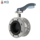 Super quality flange structure stainless steel 304 butterfly valve
