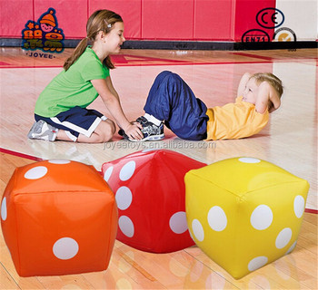 Giant Inflatable Up Dot Huge Dice Children Party
