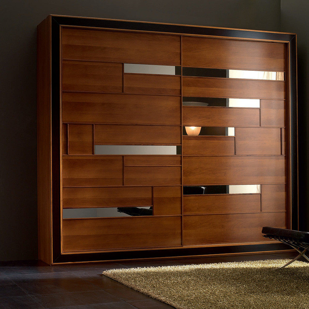 Factory direct veneer wardrobe door designs prices china for Fevicol bed furniture design