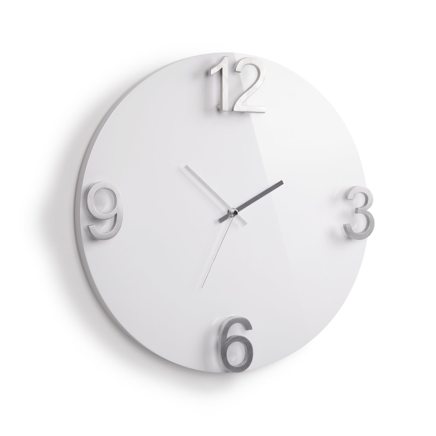 Umbra Elapse Wall Clock, White