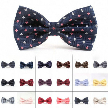 Mens High Quality Decoration Custom Bow Tie