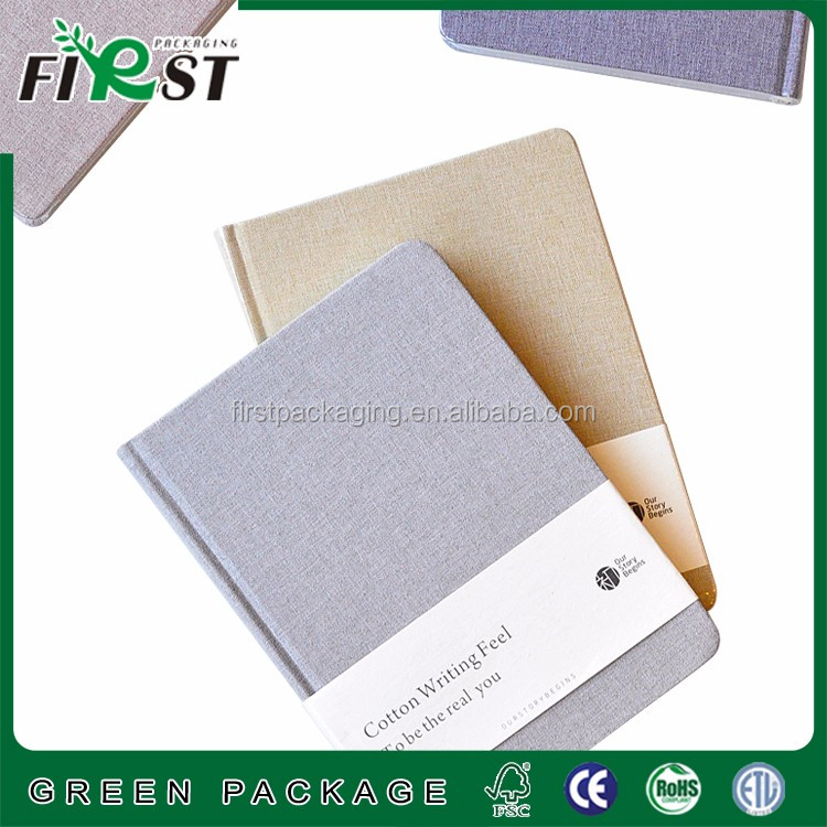 Promotional high quality custom portable notebook with calculator