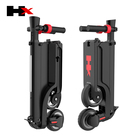HX X6 original cheap and creative four fold battery removeable two wheels electric scooter for teenagers