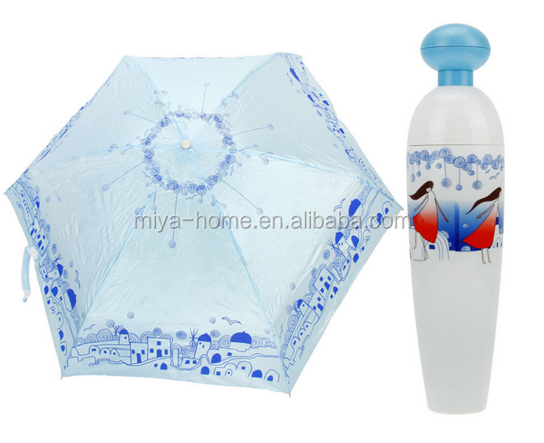 Hot selling China Factory Manufacturer Fashion perfume bottle Umbrella