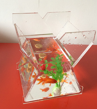 acrylic fish tank by jihong