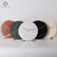 Wholesale Natural Marble Modern Digital Wall Clock For Home Decoration