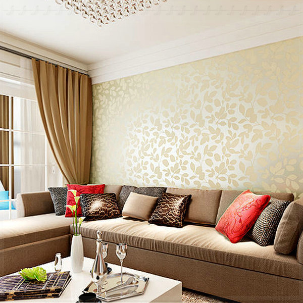 Wallpaper designs for living room - Best living room wallpaper designs ...