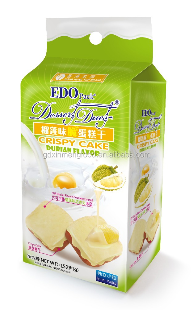 EDO Pack Durian Cake Biscuit