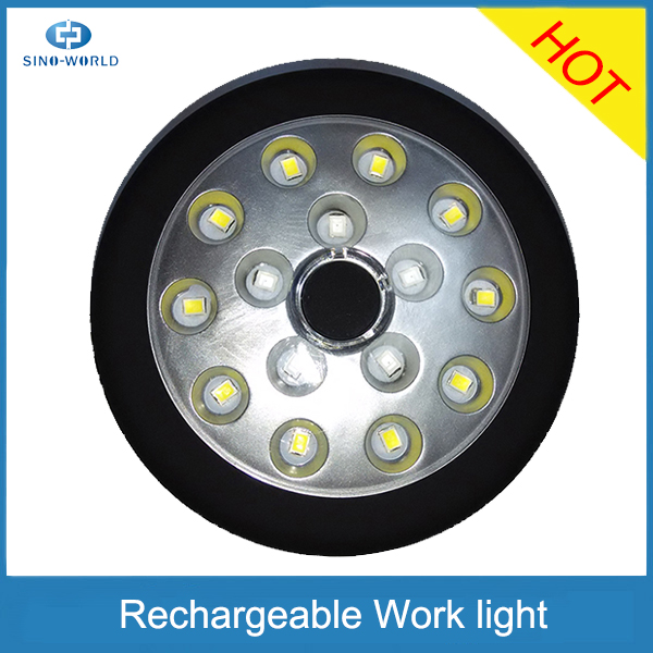 Hot Product 24led Battery Operated Portable Worklight Small Round ...