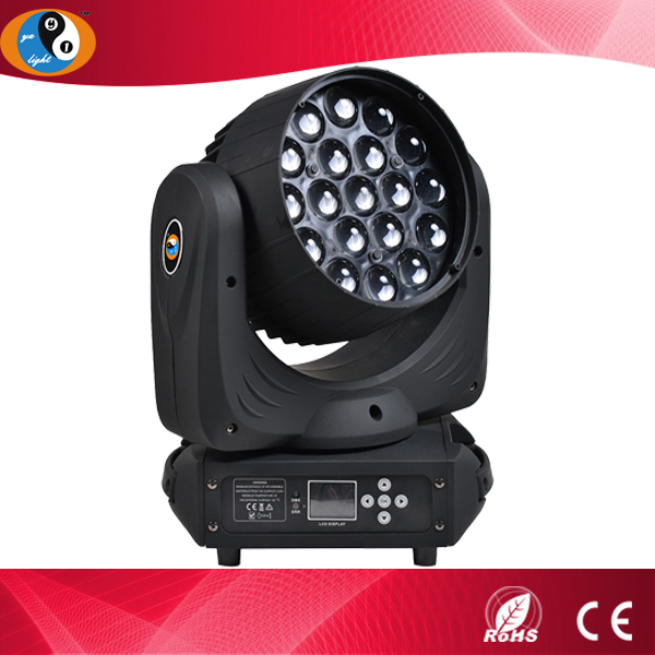 19*15w LED moving head light ZOOM zoom led moving head wash
