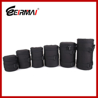 New arrival cheap dslr slr photo camera case bag for lens protecting lens ziplock bag zipper bag stand up pouch