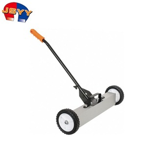 36 inch Magnetic Floor Sweeper Pick up Iron Scrap With Release Handle