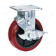 Long way 4 5 6 8 inches 370 kg load trolley casters wheels heavy duty caster wheel 4 inches