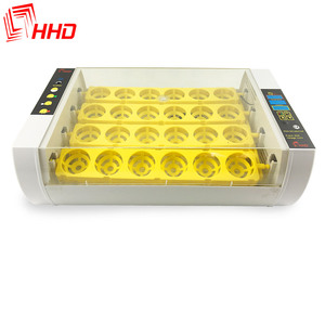 Over 99% hatching rate mini incubator egg 24 poultry egg incubator