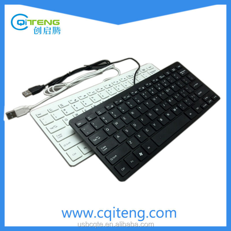 78 Keys Mini External Computer Keyboard For PC