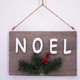 NOEL wooden decoration christmas hanging decor home decoration