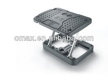 2013 Height-adjustable folding foot pedal /footrest