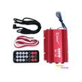 500W Car Amplifier Audio Motorcycle Motorbike 2CH 2 Channel AMP USB MP3 FM Hot
