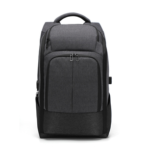 2019 OEM supplier smart laptop backpack with anti theft lock and USB  Charging port 17 in 7831042e49582
