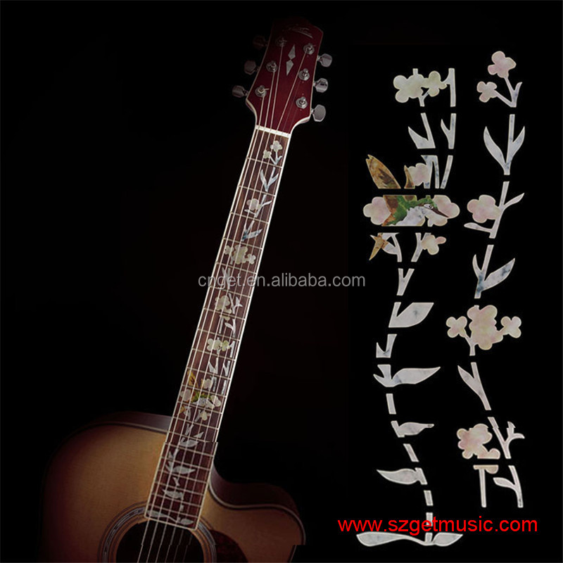 Sports & Entertainment Musical Instruments 10pcs Diy Imitate Abalone Blossom Acoustic Guitar Bass Electric Guitar Inlay Sticker Fingerboard Decals Stick On Guitar Neck
