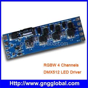 RGBW dmx converter controller solenoid