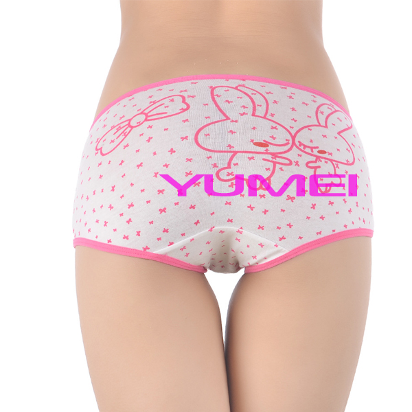 Girls In Cute Rabbit Cotton Underwear - Buy So-en Panties,Rabbit ...