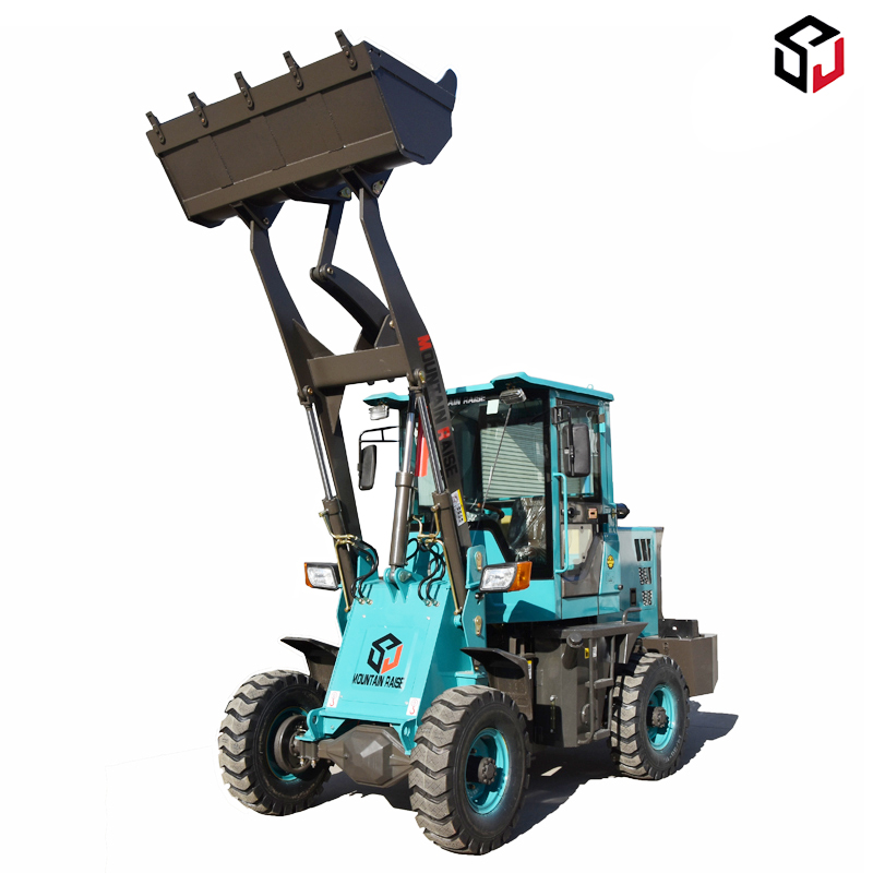 Payloader Machine 1T Mini Front End Loader พร้อมดีไซน์ใหม่