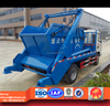 Dongfeng XBW swing arm garbage truck, 5cbm garbage collector vehicle