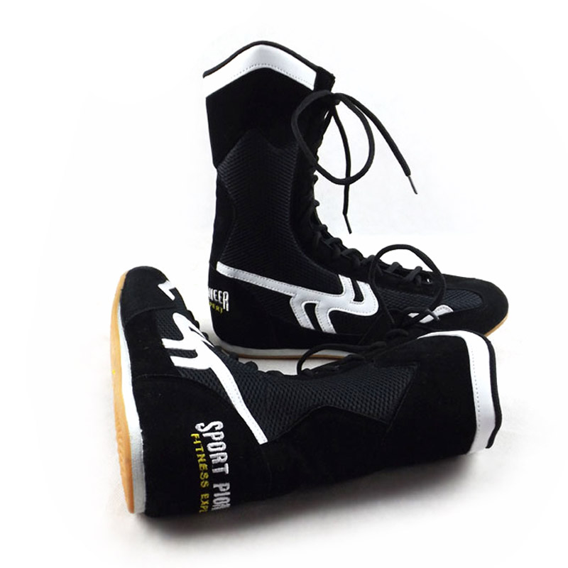 Hot Sale Custom Material Arts Boxing Sports Shoes for Men