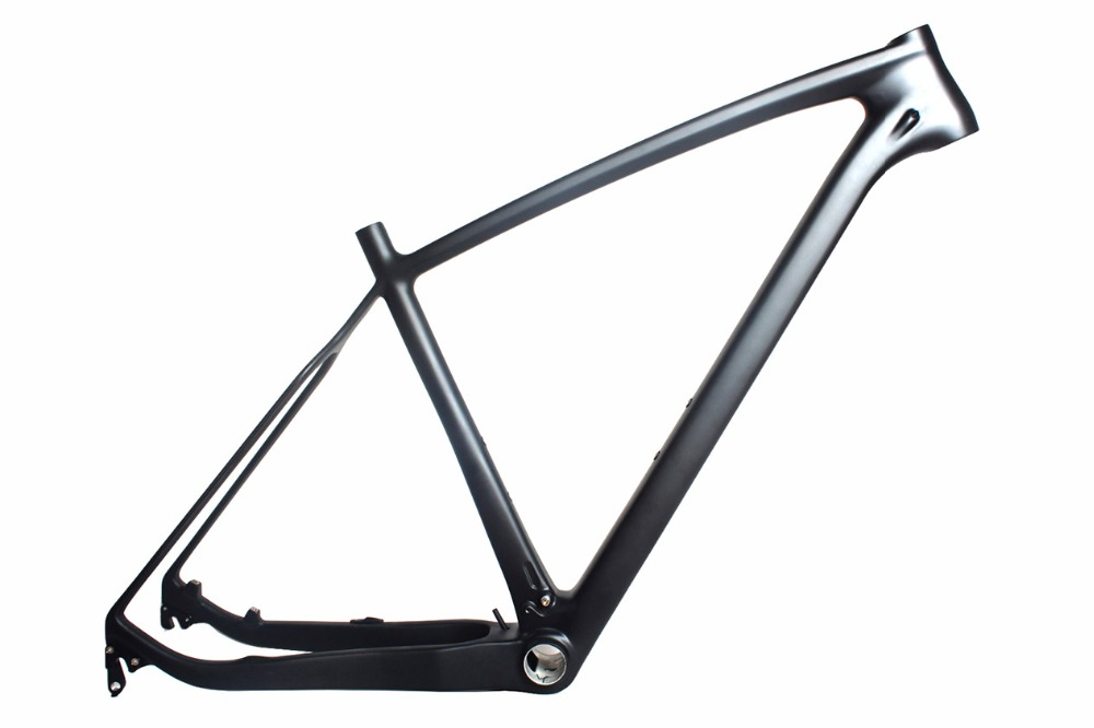 High Stiffness EPS Tech. Carbon Mountain Bikes Strong MTB 27 5 Hardtail Frame Quick Release 135mm